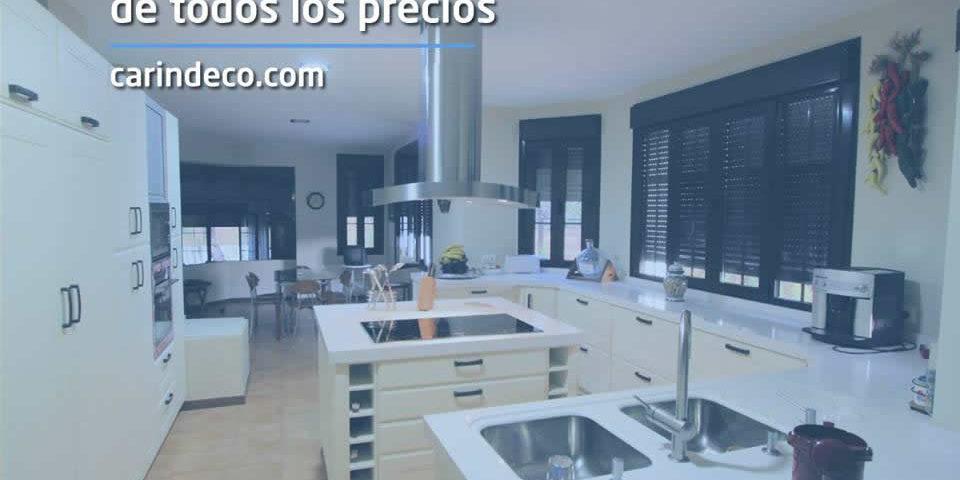 Muebles de cocina baratos y a medida carindeco for Precios muebles de cocina a medida