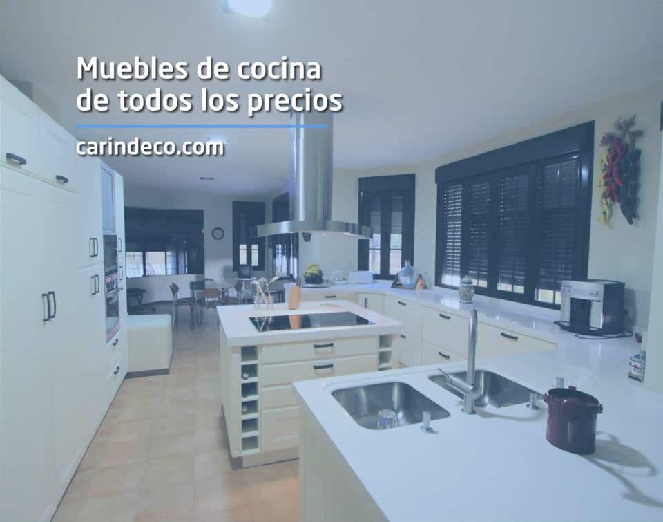 Muebles de cocina baratos y a medida carindeco for Muebles de cocina baratos en sevilla