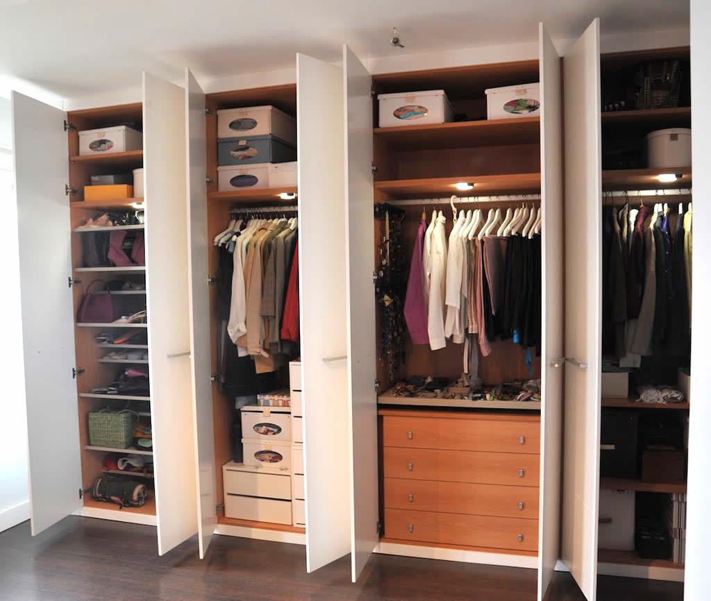 Interior armarios empotrados awesome interiores armarios for Ikea interior armarios